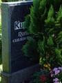 Grab Renate Kupfer auf dem Friedhof St. Nicolai Aue - Geschichte Deutschland DDR Memoiren Junge vom Knack