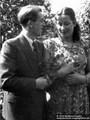 Renate Eichmann und Kupfer Rudi Verlobung 1954 - Geschichte Deutschland DDR Memoiren Junge vom Knack