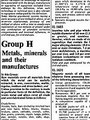 Auszug aus der CoCom-Liste 1980 - Geschichte Deutschland DDR Memoiren Junge vom Knack