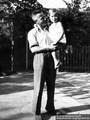 Fritz Eichmann mit Tochter Renate 08.08.1937 - Geschichte Deutschland DDR Memoiren Junge vom Knack