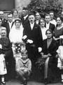 Hochzeit Elsbeth Wecke und Fritz Eichman ca. 1925 - Geschichte Deutschland DDR Memoiren Junge vom Knack