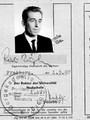 Aspirantenausweis Rudi Kupfer Bergakademie Freiberg 1967 - Geschichte Deutschland DDR Memoiren Junge vom Knack