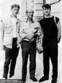 Wolfhard, Rudi und Neidthard Kupfer 1987 in Prag - Geschichte Deutschland DDR Memoiren Junge vom Knack